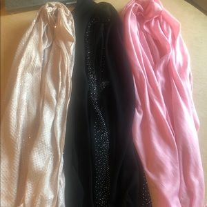 3 scarves - Bundle